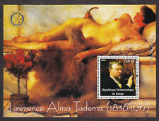 Art painting Nude Rotary Lawrence Alma Tadema s/s MNH