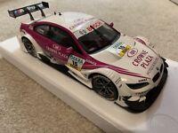 Minichamps 1:18 Scale - BMW M3 DTM E92 Team RMG 2013 - Diecast Model Car