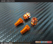 Hawk Creation Anti-Slip Stick Rocker Orange(M3,Futaba,Spektrum,DJI,VBar Control)