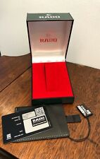 Authentic RADO Watch Gift Presentation Display Box Green NEW
