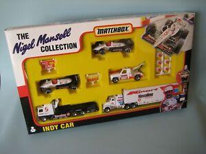 Matchbox Convoy Mansell Indy Car Havoline K Mart Racing Gift Set Boxed Kenworth