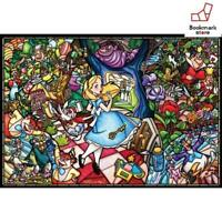 New Disney 1000 Piece Puzzle Alice in Wonderland Story Stained Glass F/S Japan