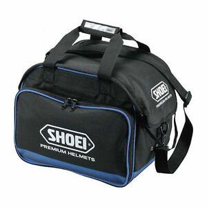 Motorcycle Helmet Bag > Shoei Carry Bag Racing Fleece Lined - Black / Blue