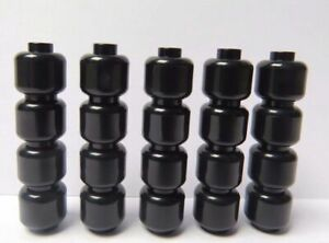 LEGO  20 Plain Black Heads Head For Minifigure Figure Art Craft Star Wars