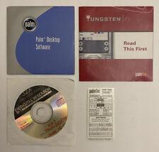 Tungsten E2 Palm PalmOne Desktop Software Instruction Manual Cd Rom & Stickers