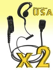 2-Way Earpiece Headset for Motorola MOTOTRBO XPR7380e XPR7550 XPR7580e APX8000