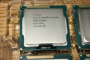 USA SELLER Intel Xeon E3-1270 V2 SR0P6 LGA 1155 3.5 GHz Quad-Core Grade A!