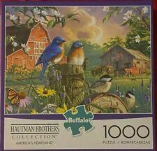 "Hautman Brothers  ""America's Heartland"" 1000 Piece Jigsaw Puzzle - Buffalo Games"