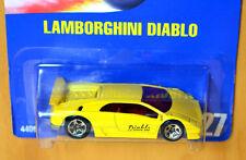 Hot Wheels Lamborghini Diablo [RARE 5SP wheels variation] - New/Sealed/RARE