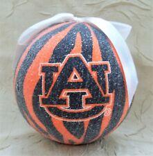 Auburn University Tigers Lightweight Christmas Ornament Sports Holiday Ncaa