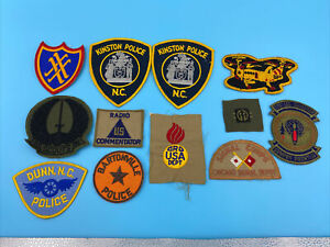 US Army Navy Air Force, Marines USMC military  WWI WWII New patch lot