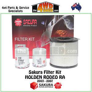 Sakura Filter Kit RSK5 suits Holden Rodeo RA 2003-2007