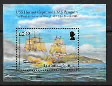 TRISTAN DA CUNHA SGMS1131 2015 USS HORNET HMS PENGUIN MNH