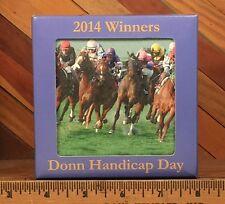 Gulfstream Park Donn Handicap Day 2014 Winners Coaster Set - Horse Race Gambling