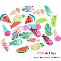 bb barrettes ensemble pastèque sirène les enfants des épingles à cheveux