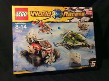 Lego World Racers #8863 BLIZZARD'S PEAK  New MISB 2010