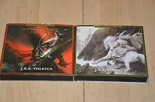 lot 2 livres Audio CD Le seigneurs des anneaux en VO (anglais) - JRR Tolkien