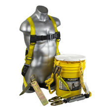 GUARDIAN 00851 Bucket of Safety Premium Roofer's Fall Protection Kit