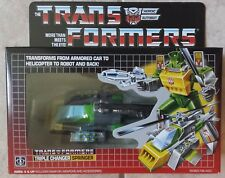 TRANSFORMERS G1 AUTOBOT TRIPLE CHANGER SPRINGER MISB! US SELLER RARE!
