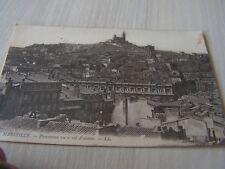 carte postale  vers 1900    provence marseille panorama      serie 22