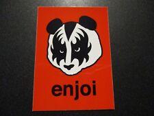 "ENJOI KISS gene simmons Panda Logo Sticker 4"" skateboard helmet decal"