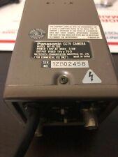 Panasonic CCTV Camera Model WV-BL200 W/ Microscope Adapter