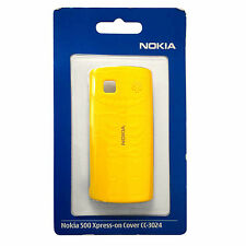 Nokia Xpress-on Cover CC-3024 / 02728Q2 für Nokia 500, Gelb
