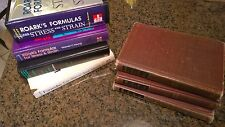 Roark's Formulas for Stress and Strain - 7 book set - 1st through 7th editions