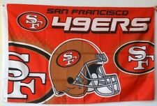 New listing San Francisco 49Ers flag 3X5Ft banner Us Free shipping