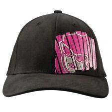 Arctic Cat Women's Cat Girl Hat Cap – Black with Pink Graphic - 5263-079