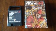 PHILIPS VIDEOPAC COMPUTER G7000 GIOCO 43 PICKAXE PETE IN SCATOLA ORIGINALE!!!!!!