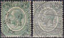 Nyasaland Protectorate Malawi 1921 King George V SG 100 & 103 (Used) pd5