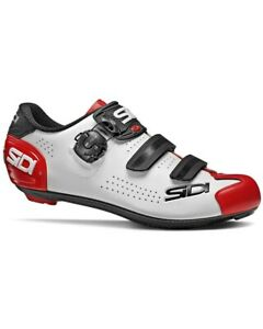 Sidi Alba 2 Road Shoes, White/Black/Red