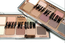 Nyx Lovebeam Professional Makeup Shadow Palette 10 Colors, Away We Glow Awgsp01