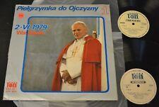 POPE JOHN PAUL LP Pielgrzymka Do Ojczyzny 2 LP SXV 851/852 Warszawa