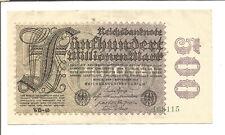 Ro 109 500 millones de reichsmark 1923