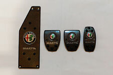 Kit Completo Pedaliera Sportiva Alfa Romeo Giulietta Carbon New
