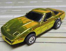 para H0 coche slot racing Maqueta de tren Corvette con TYCO CHASIS