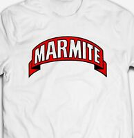 MARMITE YEAST EXTRACT FOOD Mens-Fit 100% Cotton T-shirt TEE Shirt