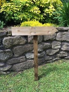 Small Wooden Wedding Sign, Finger Posts, Venue Sign, direction sign, board post