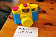 Holga 120 Cfn Roll Film Camera, Fun Camera For Lomography With Coloured Flash