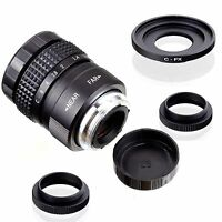 Fujian 25mm F1.4 CCTV TV Movie lens + C Mount to Fuji Fujifilm X-Pro1 (C-FX)