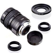 Fujian 25mm F1.4 CCTV TV Movie lens + C Mount to Fuji Fujifilm X-Pro1 (C-FX)