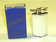"Parker Beacon ""The Efficient Lighter"" Silver in Original Box -1932 - England-RARE"