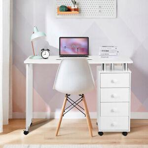 Professional Manicure Table Nail Station Art Beauty Salon Desk 4 Drawers Storage