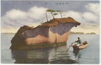 Matsushima Bay with Fishing Boat 1920s Japanese Postcard - Japan Travel