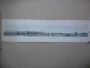 Peru panoramic view callao port de lima Orbigny 1838