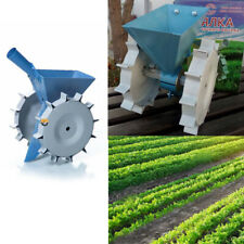 PRECISION MANUAL GARDEN HOME SEED SEEDER HAND ROW STEEL VEGETABLE SEEDS CARROT