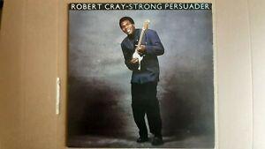 "ROBERT CRAY      ""STRONG PERSUADER""      VINYL LP RECORDS"