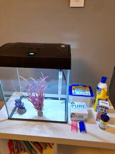 20 ltr Basic LED Fish tank kit  and bundle. Model AA370LGK